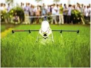 新型植保机械现场演示会在瑞安市举行