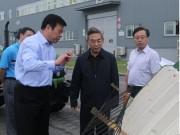 农业部副部长张桃林考察调研中联重科农机业务总部