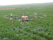 農用無人機把科技的恩惠灑向大地