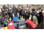 甘肃省广河县召开玉米生产全程机械化现场演示培训会