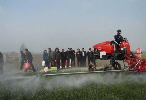 安徽植保机械演示会