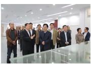 山东省政协常委和经济委主任毕泗生来五征调研