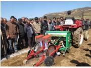 全国春耕生产农机新机具演示会在陕西省宝鸡市举行