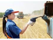 山东小麦收获过一成 农机用油供应量足价优