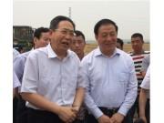 安徽省代省长李锦斌观摩中联重科绿色农机