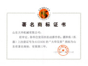 """""""大华宝来""""商标被认定为山东省著名商标"""