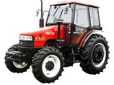 东风1004四轮驱动拖拉机