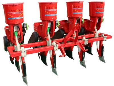 农哈哈2BY-4玉米播种机
