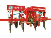 农哈哈气吸式玉米施肥播种机视频