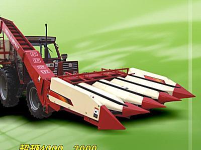 中收4YD-3背负式玉米收获机