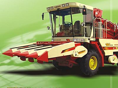 中收4YZ-3自走式玉米收获机