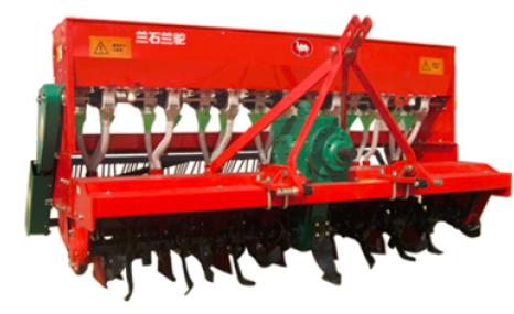 甘肅蘭石蘭駝牌2BMGF-7/14免耕覆蓋施肥播種機