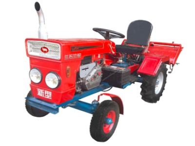 甘肃兰石兰驼牌LS-100四轮拖拉机