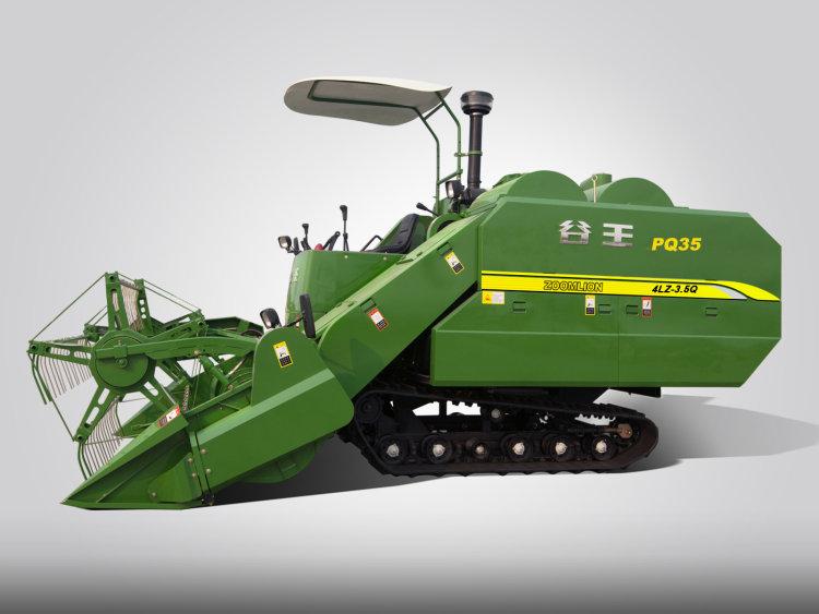 中联重机谷王PQ35(4LZ-3.5QA)水稻联合收割机