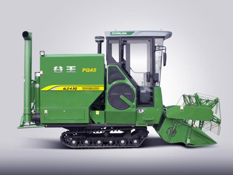 中聯重機谷王PQ45超級雙滾筒水稻聯合收割機
