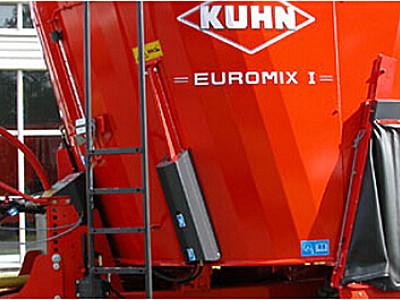 庫恩EUROMIXI 1070立式單攪龍飼料攪拌機