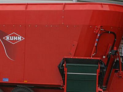 庫恩EUROMIX I 2270 立式雙攪龍飼料攪拌機
