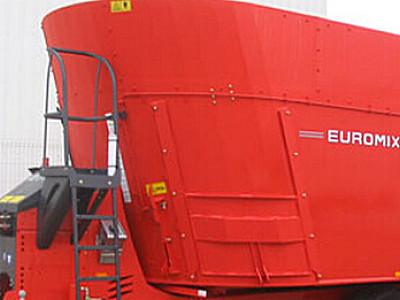 库恩EUROMIX I 2770立式双搅龙饲料搅拌机