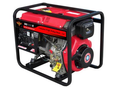 五菱6.0 kw 开架柴油发电机组(50Hz)