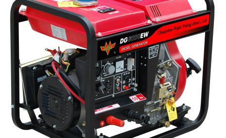 五菱DG6000EW(50Hz)柴油电焊两用机组