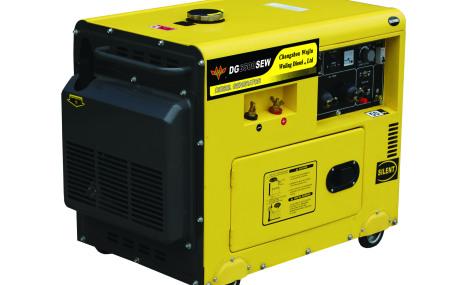 五菱DG6500SEW(50Hz)柴油电焊两用机组