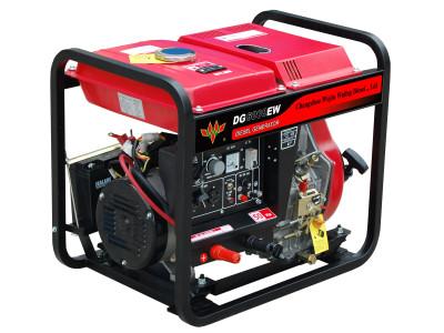 五菱DG6000EW(60Hz)柴油电焊两用机组