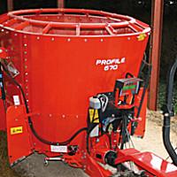 庫恩PROFILE 670立式單攪龍飼料攪拌機