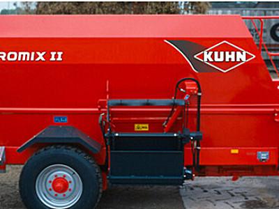 库恩EUROMIX II 1860卧式双搅龙饲料搅拌机