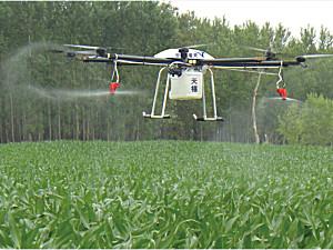 山东天禧TXN-3000A多旋翼喷洒农药无人机