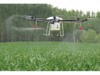 山東天禧TXN-3000A多旋翼噴灑農藥無人機