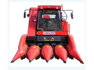 天人4YZ-4(TR9988)四行甩刀型自走式玉米收获机