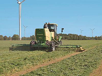德国Krone BIGM420 CRI重型自走式割草机