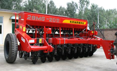 现代农装(中农机)2BMG-20免耕施肥播种机