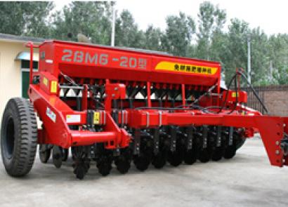 現代農裝(中農機)2BMG-20免耕施肥播種機