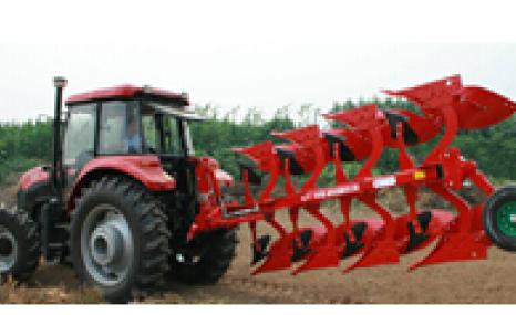 現代農裝(中農機)1LFT-435翻轉調幅鏵式犁