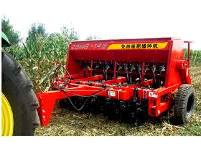 现代农装(中农机)2BMG-14免耕播种机