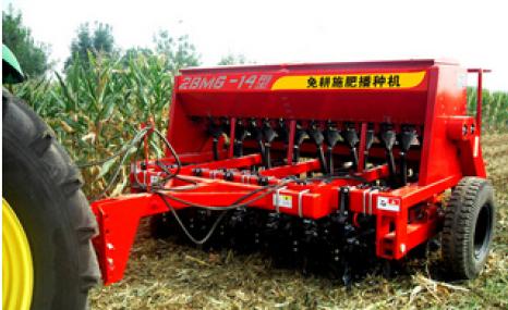 現代農裝(中農機)2BMG-14免耕播種機
