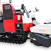 洋馬AW70系列履帶式全喂入水稻收割機