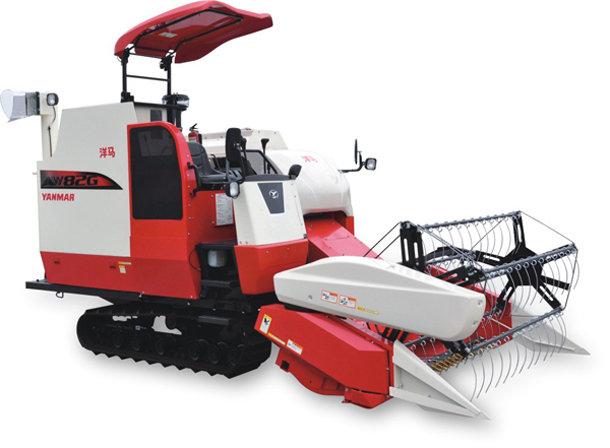 洋马AW82系列履带式全喂入水稻收割机