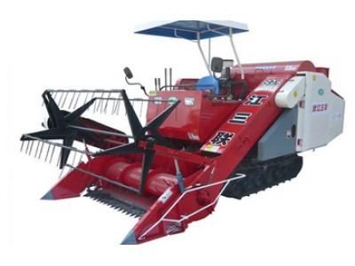 谷香ZL-150全喂入履帶式聯合收割機