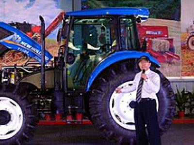 纽荷兰T1104轮式拖拉机