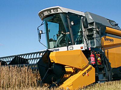 临沂泰科TK3085轮式谷物联合收割机