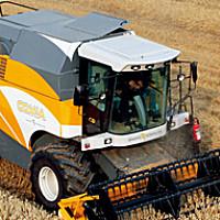泰科Comia履帶式谷物聯合收割機