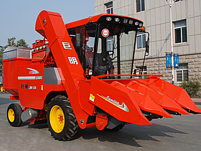 巨明新三行(358)升級版玉米收割機