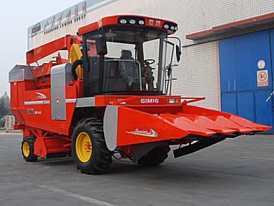 巨明新四行(452)升級版玉米收割機