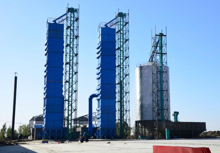 河南中農福安300噸烘干塔