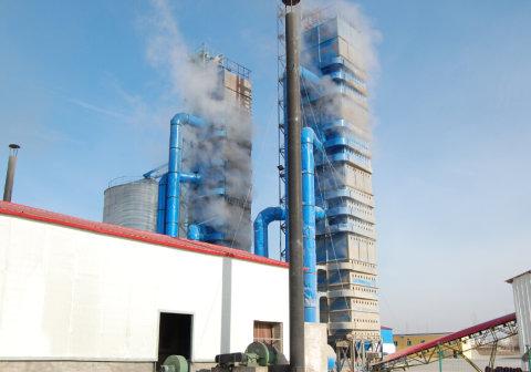 河南中农福安300吨烘干塔