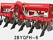 农哈哈2BYQFH-6免耕气吸玉米播种机