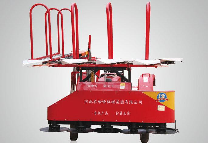 农哈哈4G-2.2C玉米秸秆收割机