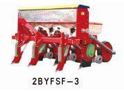 农哈哈2BYFSF-3仿形玉米勺轮播种机